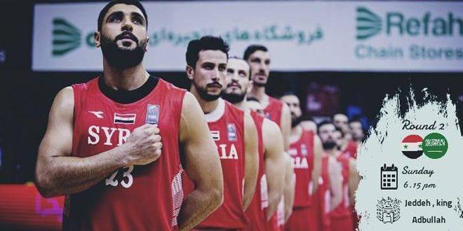 L'équipe syrienne de basket-ball bat son adversaire saoudienne aux éliminatoires asiatiques