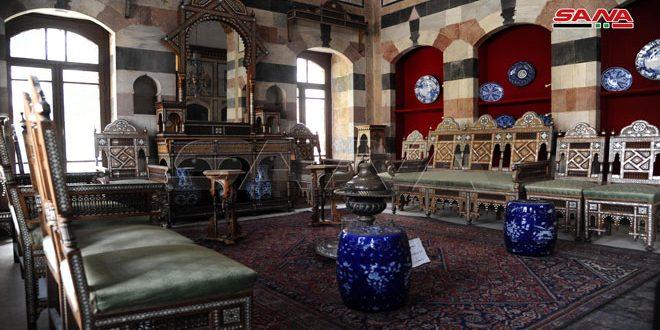 Le palais antique d'al Azem retourne à la lumière via un concert musical lundi prochain