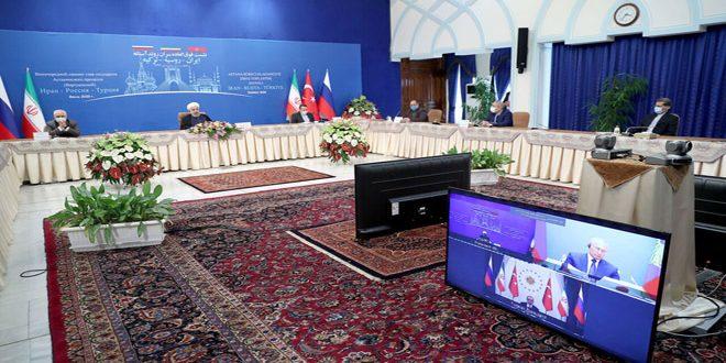 Les présidents des pays garants du processus d'Astana affirment l'engagement à la souveraineté de la Syrie et à son intégrité territoriale