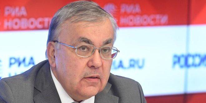Moscou affirme qu'il poursuivra son appui à la Syrie dans sa lutte contre le Coronavirus