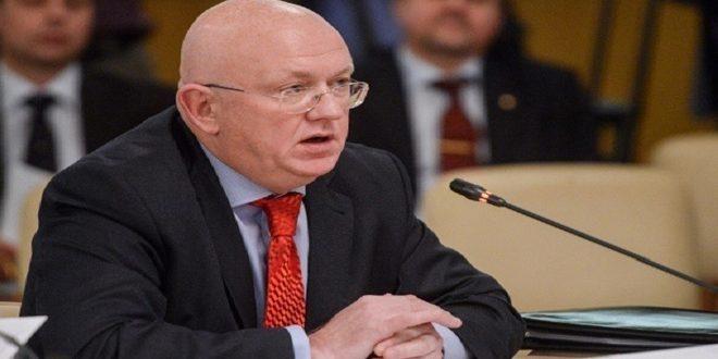 Nebenzia: Certaines parties exploitent le mécanisme de l'aide humanitaire de façon qui se contredit avec le principe du respect de la souveraineté de la Syrie