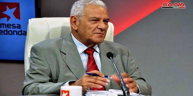 Un analyste politique cubain : La /Loi de César/ contre la Syrie est similaire à celle /Helms-Burton/ appliquée contre Cuba