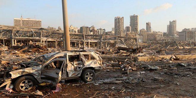 Cent tués et 4000 blessés, nouveau bilan de victimes de l'explosion du port de Beyrouth