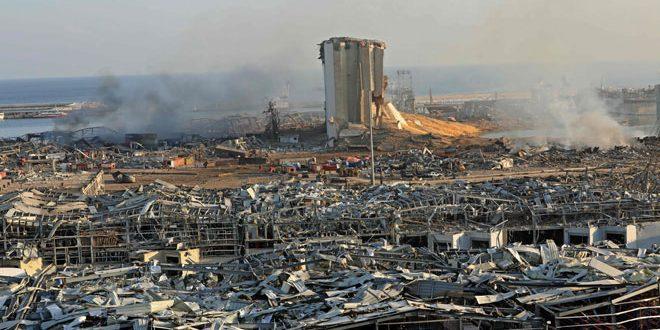 Le bilan de victimes de l'explosion du port de Beyrouth s'élève à 137 morts