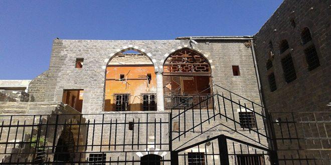 Début de la restauration de la partie ouest du palais antique de Zahrawi à Homs