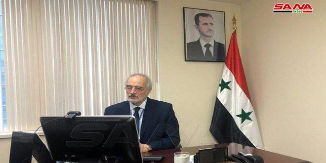Jaafari : Les crimes perpétrés par le régime turc ne changeront point le statut juridique des territoires syriens