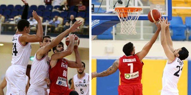 La sélection de Syrie de basketball « sénior » bat la sélection d'Iran aux éliminatoires asiatiques