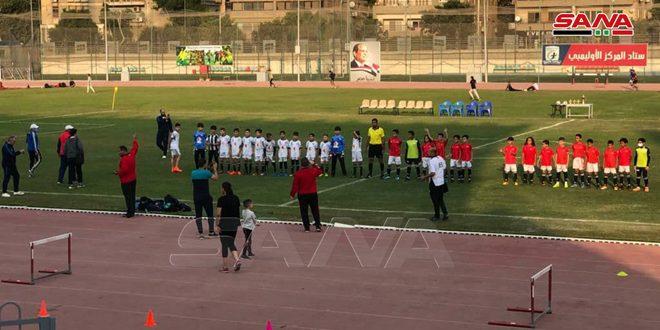La Syrie occupe la 2ème place au championnat des équipes des Académies des pays arabes au football