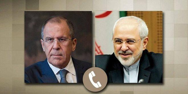 Lavrov et Zarif examine dans un appel téléphonique la situation en Syrie