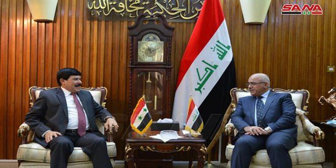 Entretiens syro- Irakiens sur le développement des relations académiques entre les universités dans les deux pays