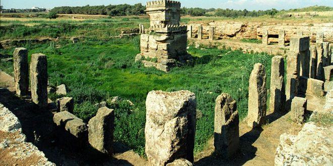 La ville antique d'Amrit… le berceau des jeux olympiques