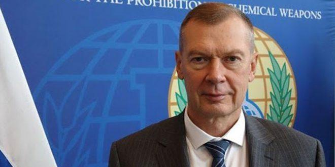 Shulgin affirme que la décision occidentale contre la Syrie à l'OIAC démontre la transformation de l'organisation en un outil politique