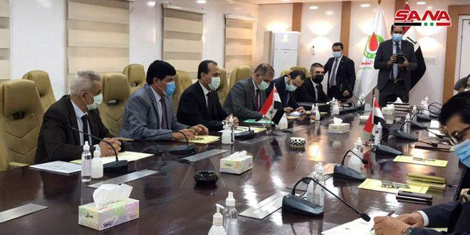 Entretiens syro-irakiens pour consolider la coopération dans les secteurs du pétrole et de l'énergie