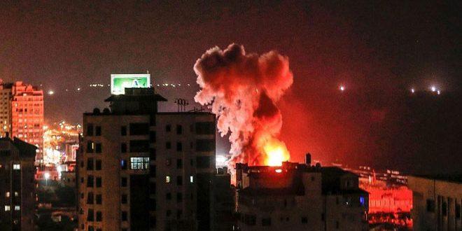 54 martyrs parmi les Palestiniens du fait de l'agression continue de l'occupation israélienne contre la bande de Gaza