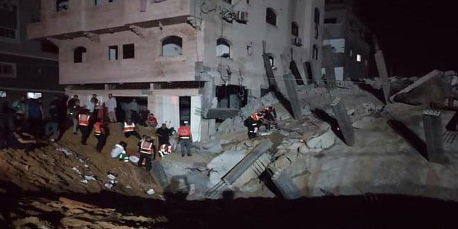 119 martyrs palestiniens, dont 31 enfants, et 600 blessés, du fait de l'agression continue de l'occupation contre la bande de Gaza