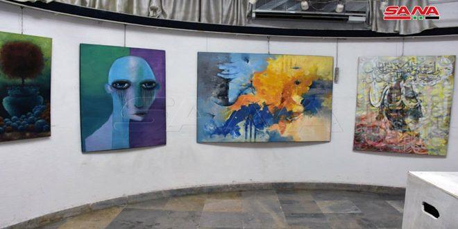 Ouverture de l'exposition d'art «printemps» à Alep