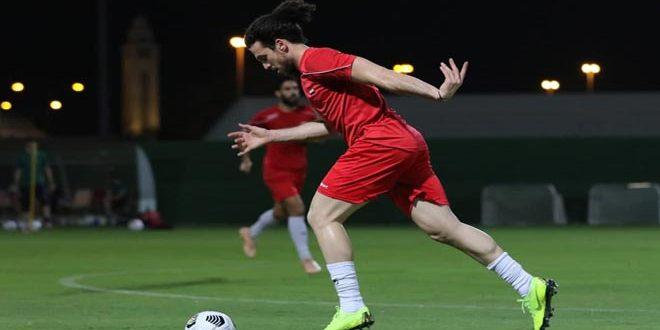 La sélection syrienne de football se prépare pour rencontrer son adversaire chinoise mardi prochain