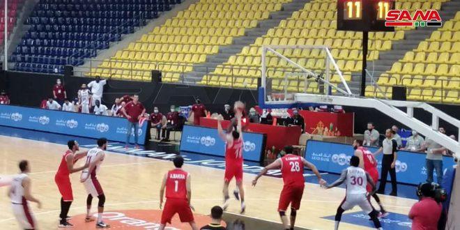 En battant Qatar, l'équipe syrienne de basketball se qualifie pour la finale asiatique