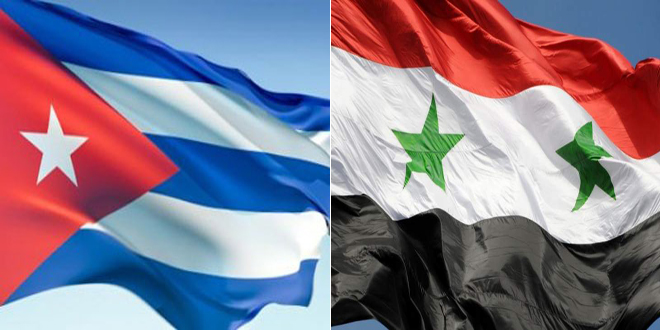 La commission d'amitié parlementaire syro-cubaine examine avec l'ambassadeur de Cuba à Damas les moyens de renforcer les relations parlementaires bilatérales