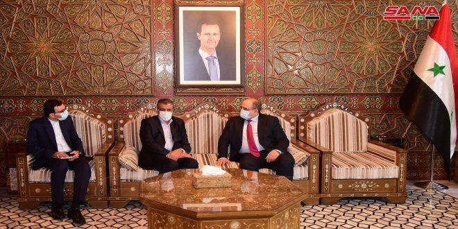 Le chef du comité économique mixte syro-iranien: Ma visite en Syrie vise à renforcer et activer les relations économiques et d'investissement entre les deux pays