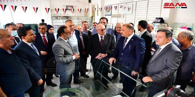 Le Ministre irakien de l'Industrie visite la cité industrielle d'Adra