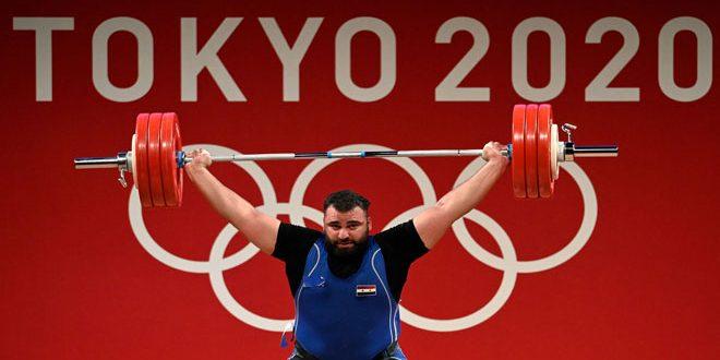 L'haltérophile Maan Assaad remporte la médaille de bronze aux Jeux olympiques de Tokyo