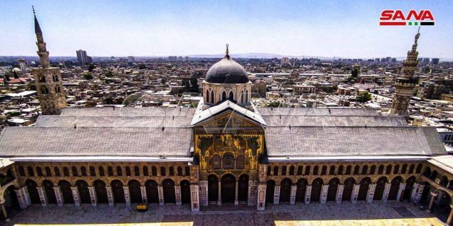 Les minarets de la Mosquée des Omeyyades…chefs-d'œuvre architecturaux au ciel de Damas