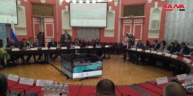 Accord de coopération et d'échange d'expertises entre l'Université de Damas et l'Université Pédagogique d'État de Moscou