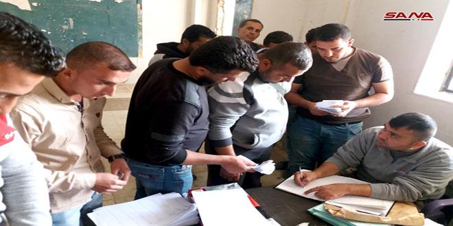 הסדרת מצבם של עשרות חמושים בפאתי אל-קוניטרה