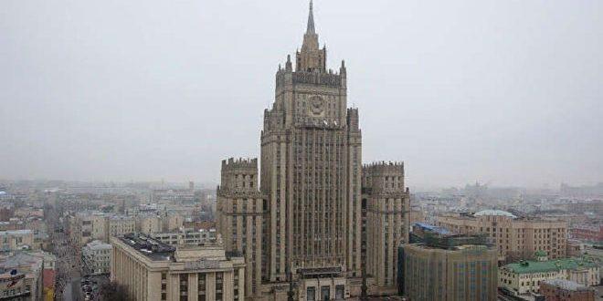 משרד החוץ הרוסי דוח ארגון מניעת הפצת הנשק הכימי בקשר לסוריה הוכן ללא מנדט
