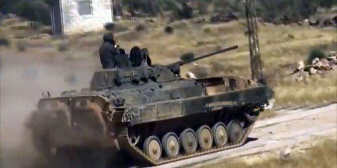 הדיפת מתקפת טרור בפאתי חמא הצפונים