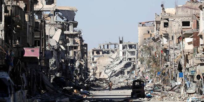 קצין צרפתי .. הקואליציה הבינלאומית נוהגת להרוג אזרחים סורים ולהשמיד עריהם