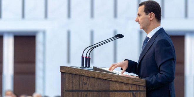 הנשיא אסד : עריכת הבחירות המקומיות במועדן מוכיחה עוצמתם של העם והמדינה