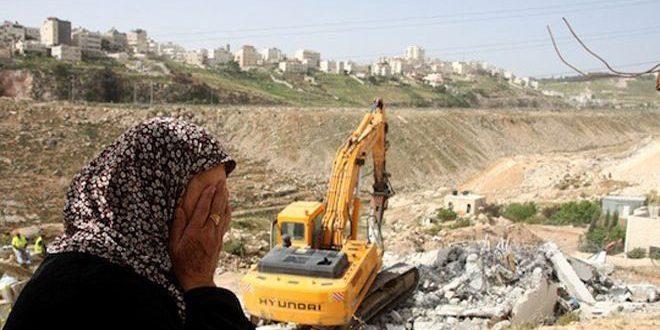 כוחות הכיבוש הרסו שתי דירות בגדה המערבית