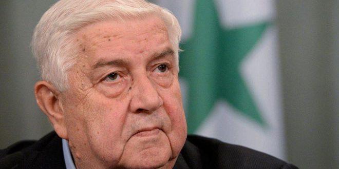 אלמועלם דן עם מאוריר ביחסי שיתוף הפעולה שבין סוריה לבין הוועדה הבינלאומית של הצלב האדום
