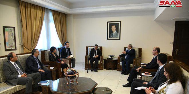 """אל-מוקדאד דן עם ו'הבה בשיתוף הפעולה בין ממשלת סוריה לתוכנית הפתוח של האו""""ם"""