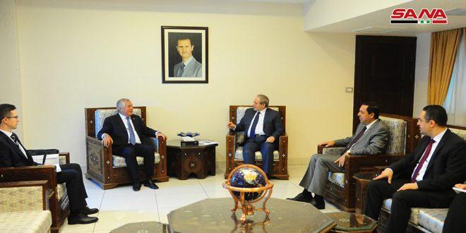 אל-מוקדאד לשליח נשיא טאג'קיסטאן .. לקדום היחסים הדו-צדדיים בין שתי הארצות בכל התחומים