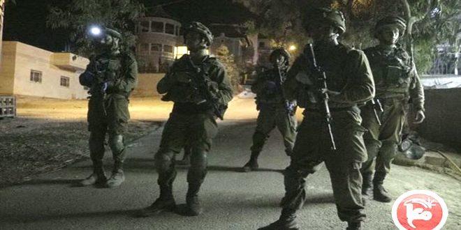 הכוחות הישראליים עצרו 9 פלסטינים בגדה המערבית