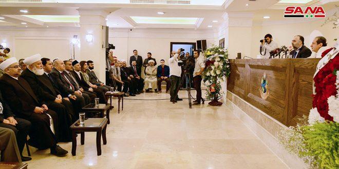 שר הו'קף: העם הסורי על כל שכבותיו לחם בטרור