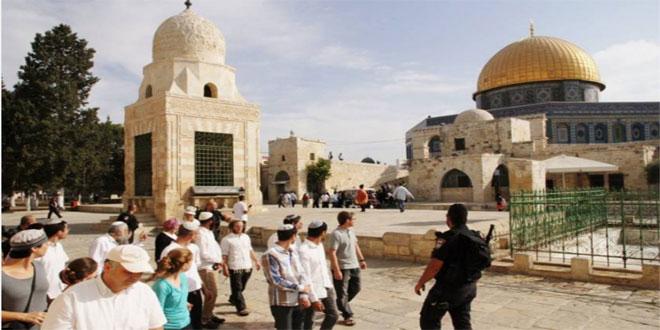 מתנחלים ישראלים פרצו מחדש למסגד אל-אקסא המבורך