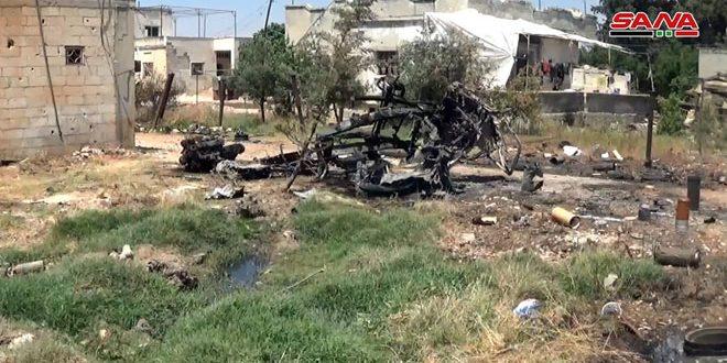 פגזי הטרור הגיעו ל-6 כפרים ועיירות בפרבר חמא הצפוני
