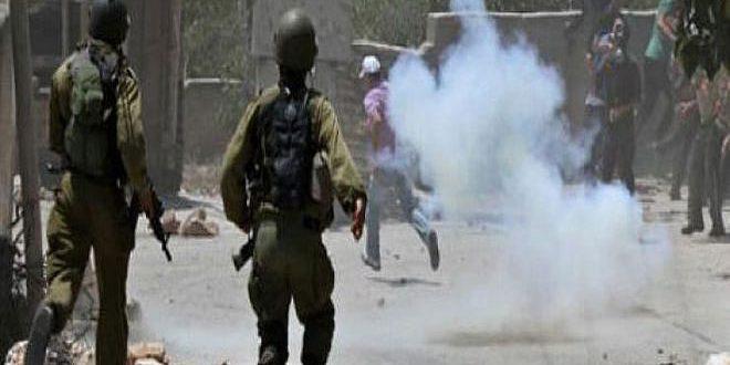 עשרות פלסטינים נפגעו בצפון רמאללה