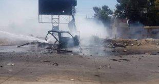 שני אזרחים נפצעו מפצוץ טרור של מכונית תופת בשכונת ע'ו'יראן בעיר אלחסקה