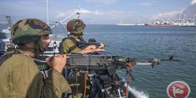 ספינות חיל הים הישראלי ירו לעבר הדייגים הפלסטינים