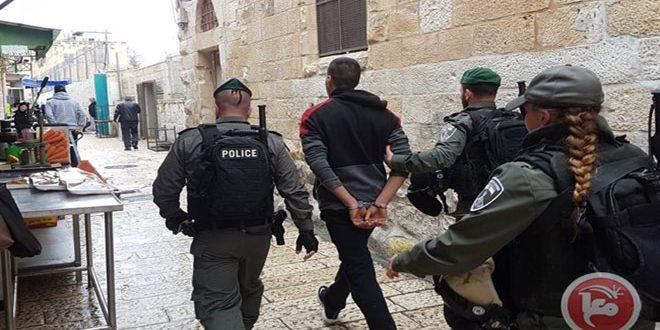 כמה פלסטינים נפצעו ונעצרו על ידי הכוחות הישראליים