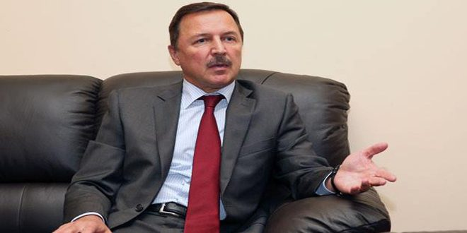 השגריר הרוסי בדמשק : עם לוחמתה בטרור, מגינה סוריה על האזור כולו