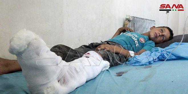 שני ילדים אחים נפצעו כתוצאה להתפוצצות מוקש בפרבר דיר א-זור