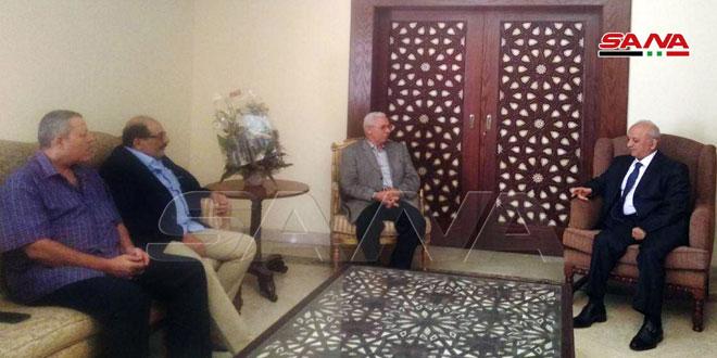 פולטקאים ואנשי תקשורת מצריים מדגישים את הזדהותם עם סוריה במלחמתה נגד הטרור