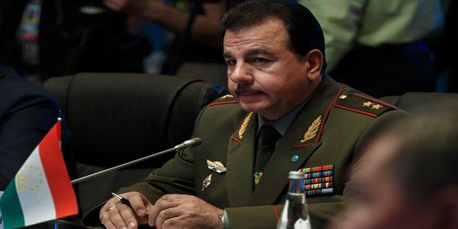 שר ההגנה של טג'יקיסטן : שיתוף הפעולה בין הצבא הסורי לבין חיל האוויר הרוסי, דוגמה ללחומה בטרור