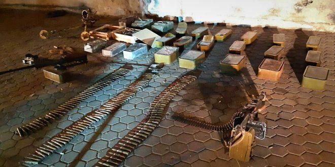 נשק ותחמושת נמצאו בכפר כפר נבודה
